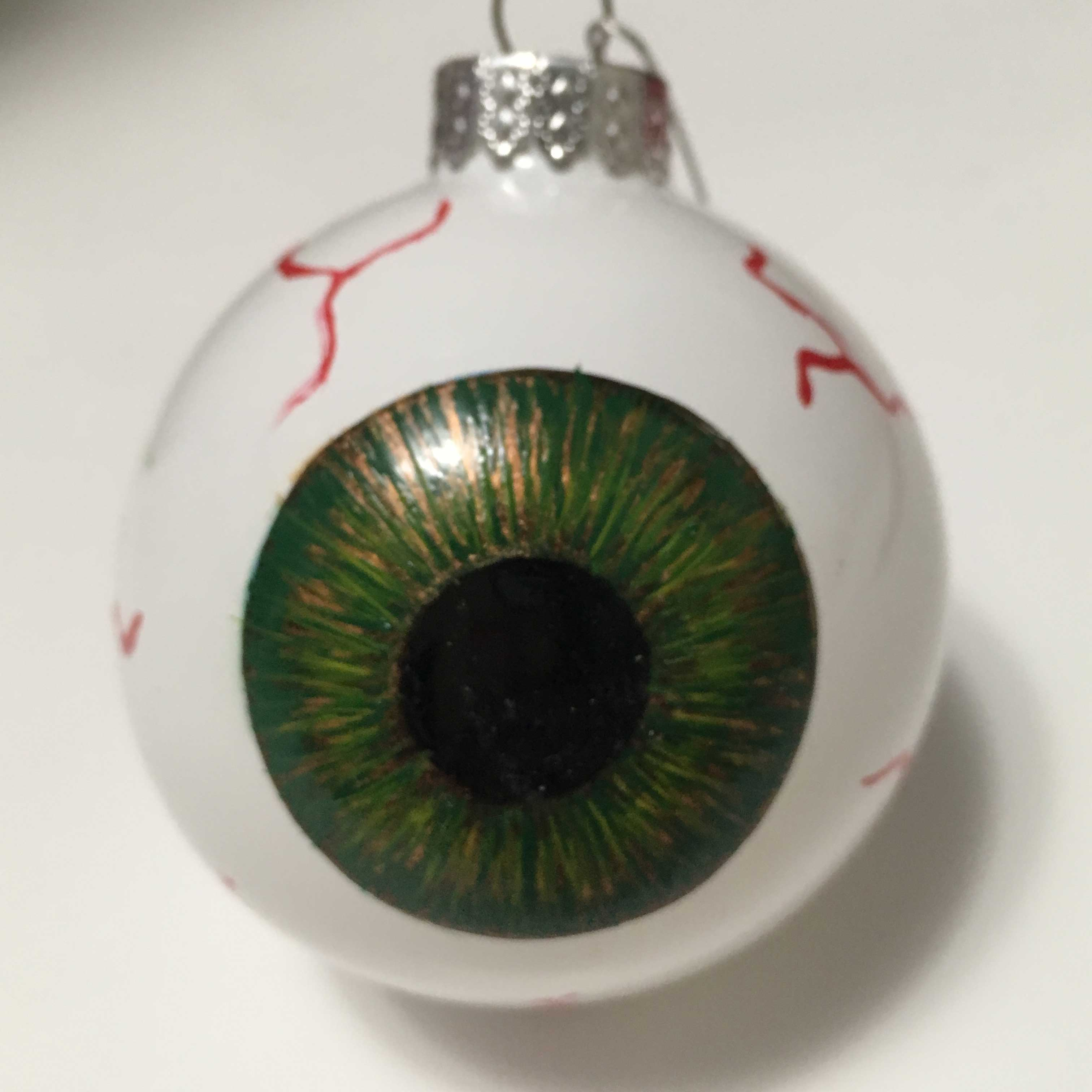 Green Eyeball ornament
