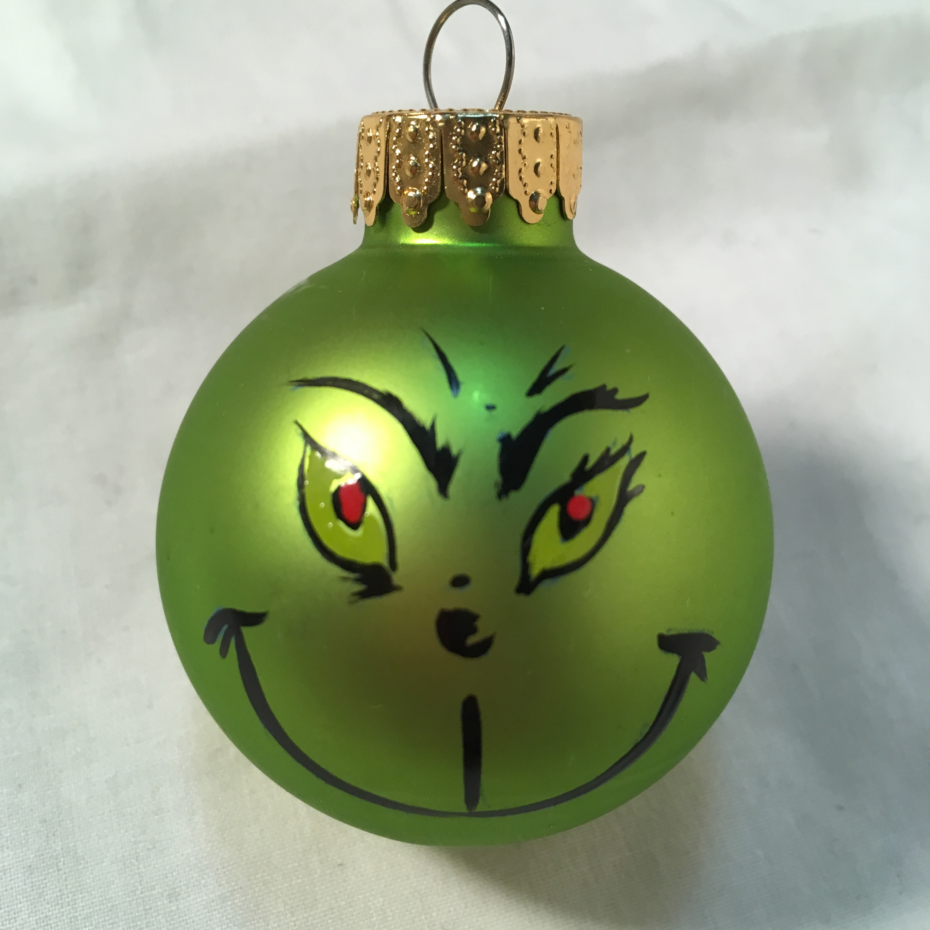 Small Grinch ornament