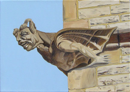 Trinity Church Gargoyle
