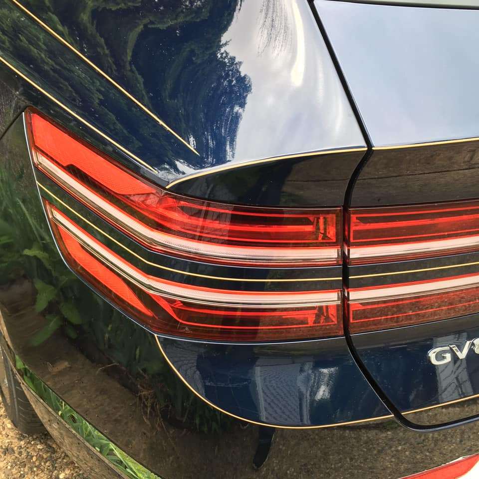 Pinstripes by Julie Fournier on GV80